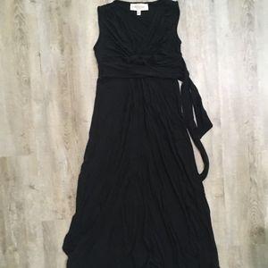 Philosophy Women's Jersey Maxi Dress, Black, XS